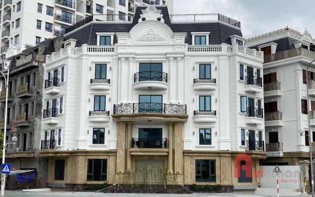 Thi công hoàn thiện tòa nhà văn phòng tại Long Biên