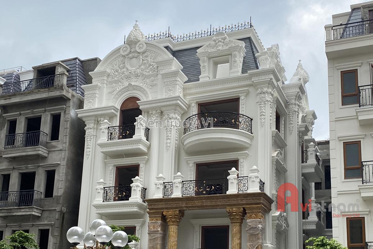 Hoàn thiện lâu đài cao cấp siêu đẹp tại Long Biên, Hà Nội