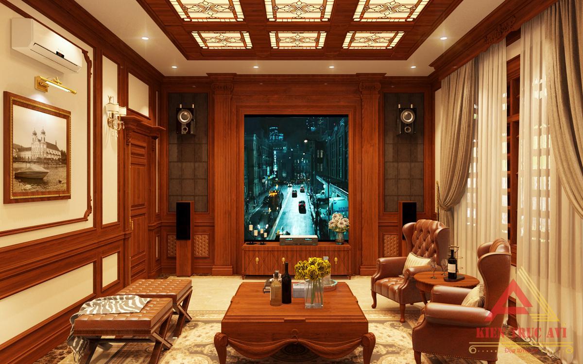 Nội thất phòng giải trí cho biệt thự