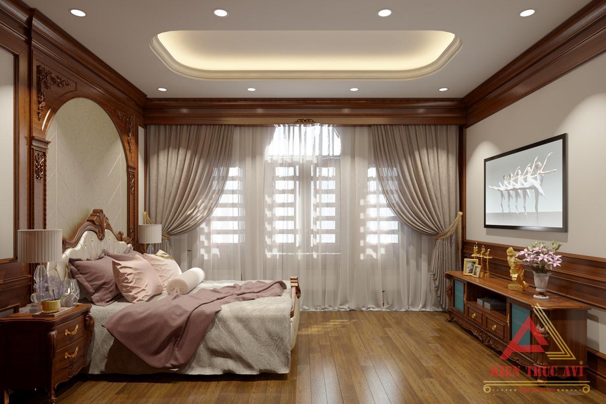 Nội thất phòng ngủ cho biệt thự