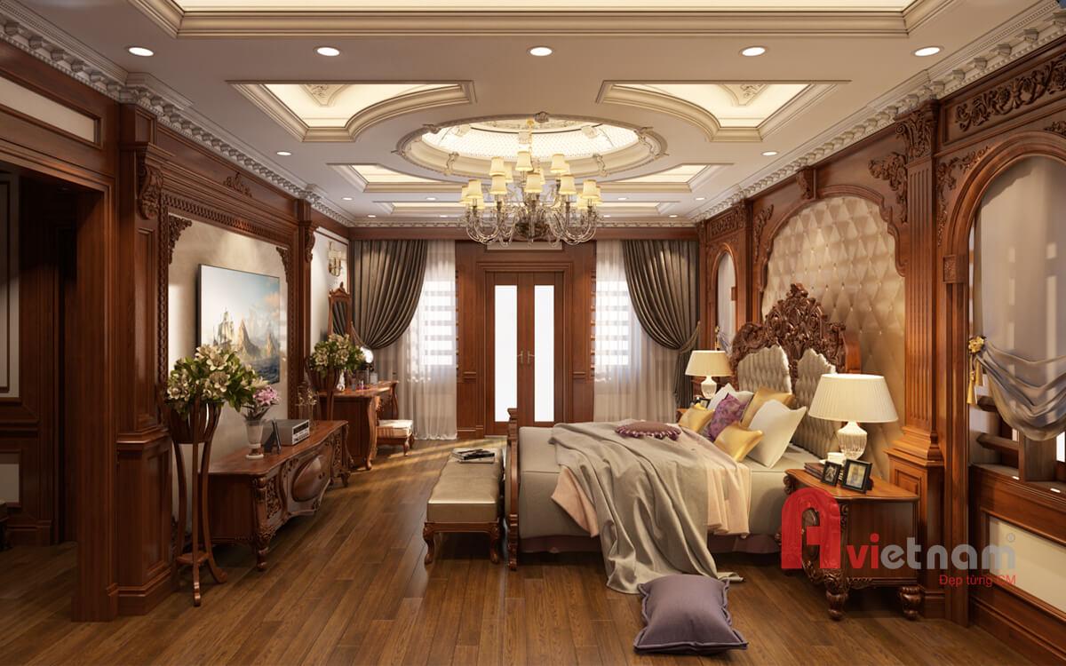 Thiết kế nội thất tân cổ điển cho biệt thự