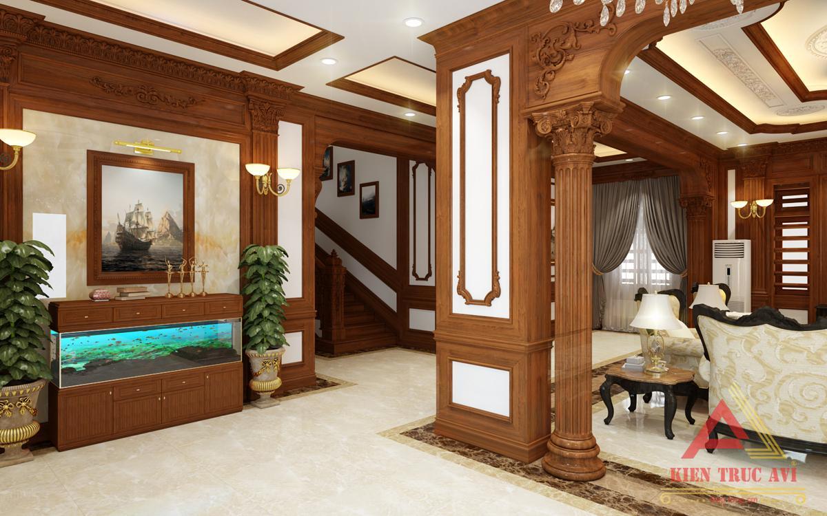 Nội thất phòng khách cho biệt thự