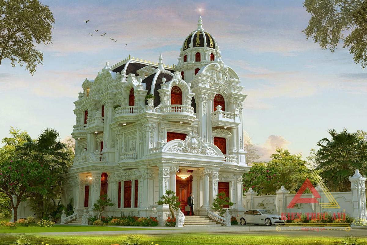 Mẫu thiết kế lâu đài cao cấp