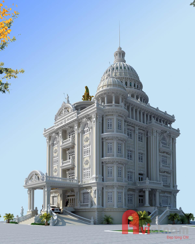 Thiết kế lâu đài cao cấp