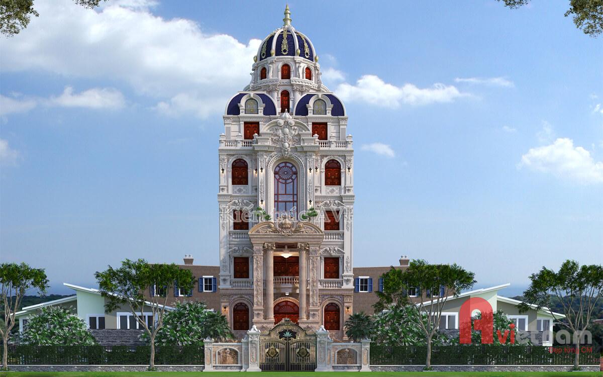 Mẫu thiết kế lâu đài cao cấp cực kỳ cuốn hút tại Lâm Đồng