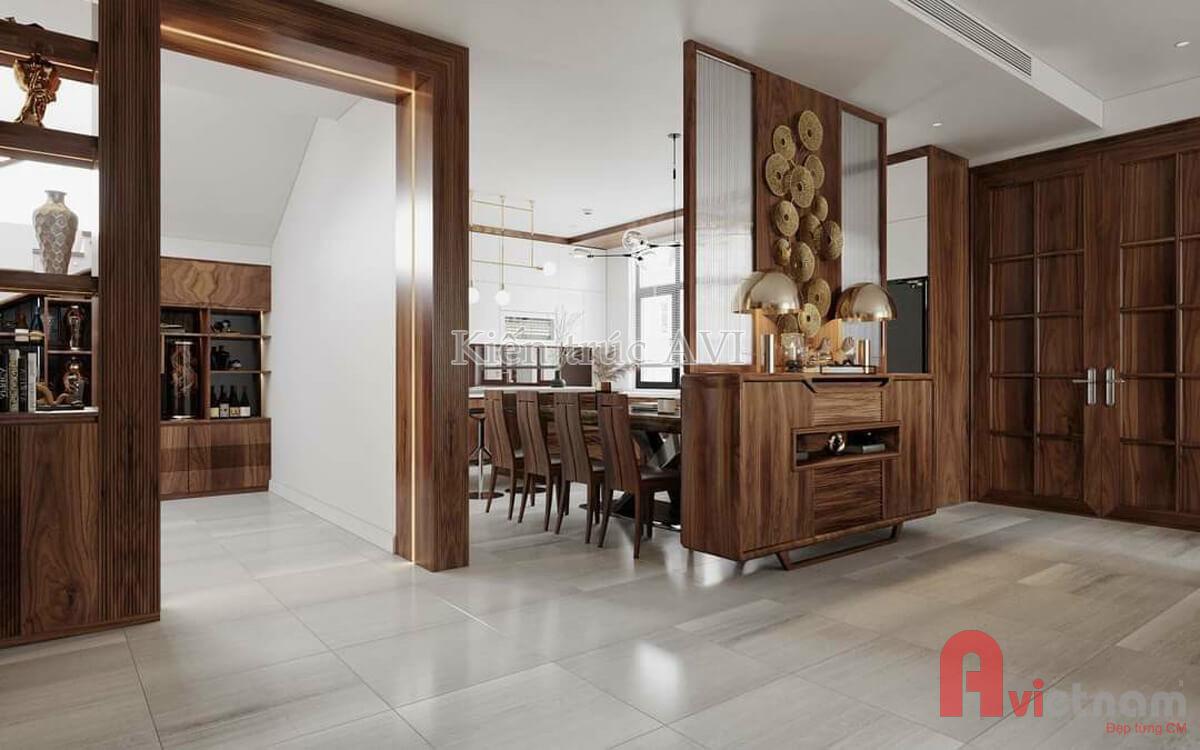 Thiết kế nội thất phòng bếp - phòng ăn