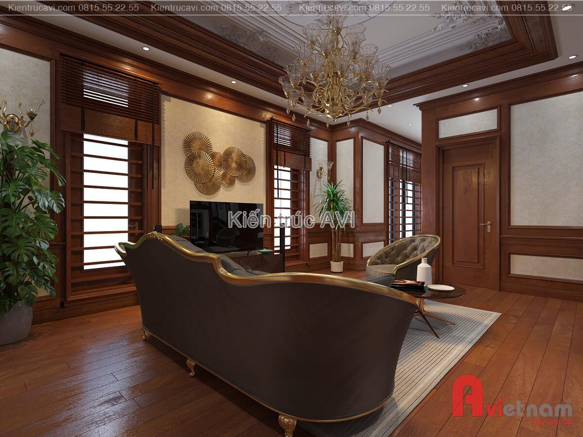 Mẫu thiết kế nội thất phòng sinh hoạt chung