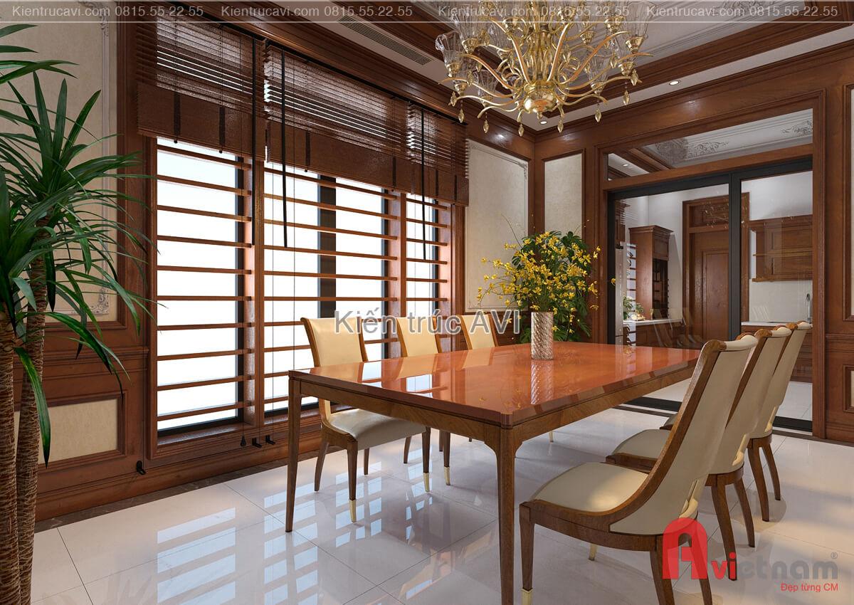 Mẫu thiết kế nội thất phòng ăn